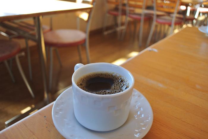 中華 清龍@宇都宮市平出町 サービスのコーヒー