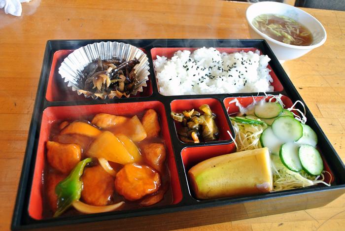 はくうん@下都賀郡壬生町 酢豚定食
