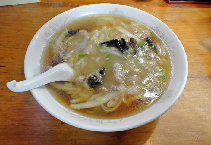 昭和軒@高根沢町宝積寺 肉絲湯麺 1