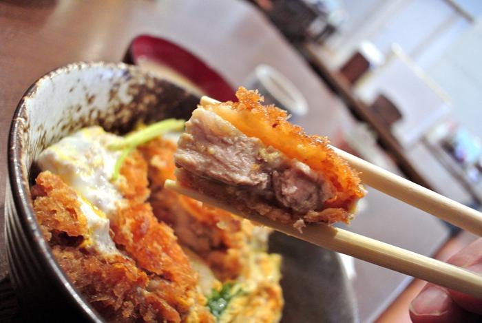 とんかつあじでん@宇都宮市下戸祭 カツ丼2