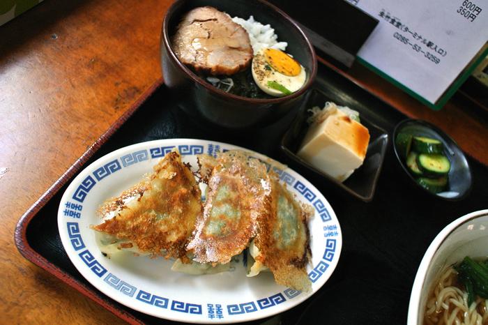 朱竹食堂@下野市下古山 ラーメンセット3