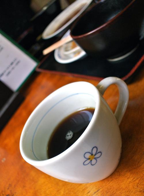 朱竹食堂@下野市下古山 アイスコーヒー