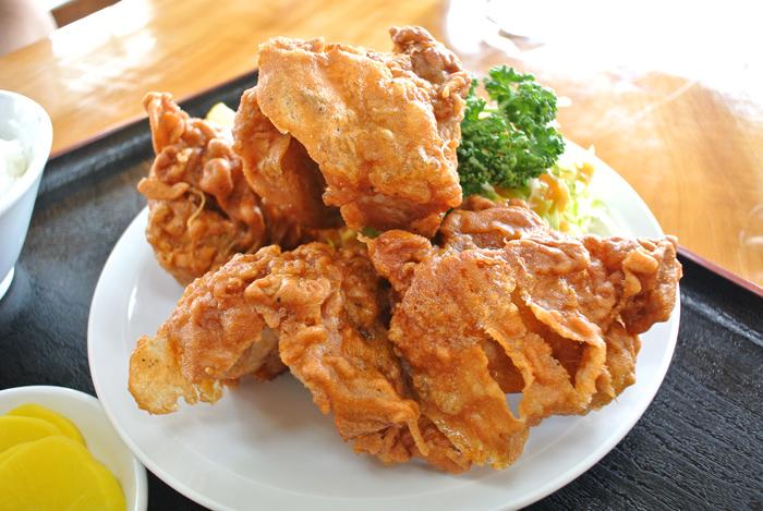 味の文化@鹿沼市上石川 唐揚げ定食