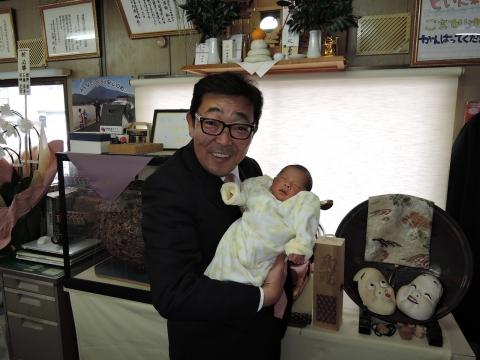 仲人したカップルに子供が生まれました(^_^)v