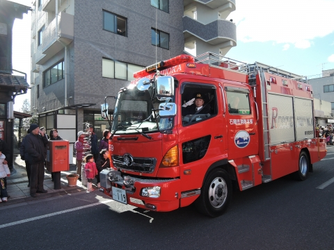 平成27年 石岡消防出初式④