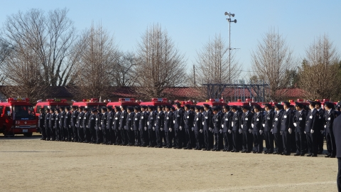 平成27年 石岡消防出初式⑧