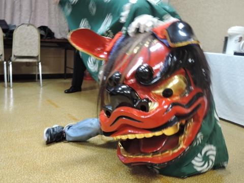 茨城獅子頭彫刻研究会 新年会①