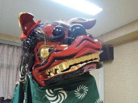 茨城獅子頭彫刻研究会 新年会②