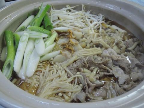 魚の煮付け&鍋パーティー②