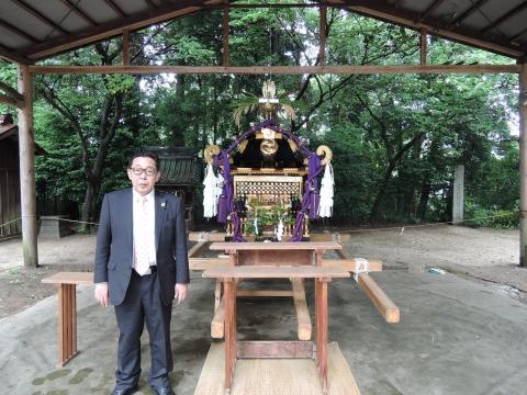 八坂神社 神輿渡御①