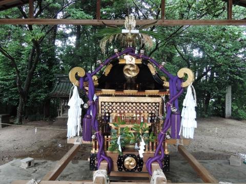 八坂神社 神輿渡御③