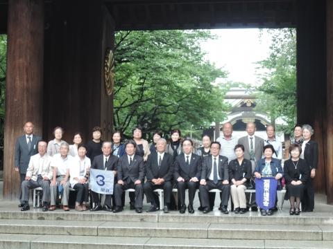 平成27年7月9日 靖国神社参拝⑦