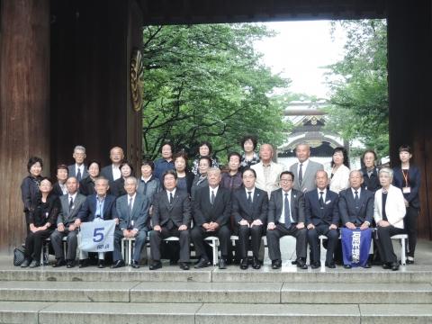 平成27年7月9日 靖国神社参拝⑧