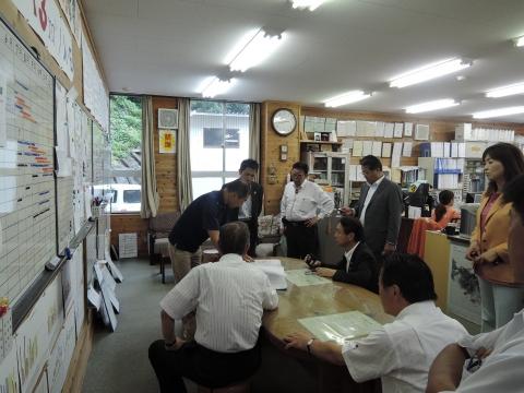 平成27年7月15~17日農林水産委員会 関西県外調査⑧