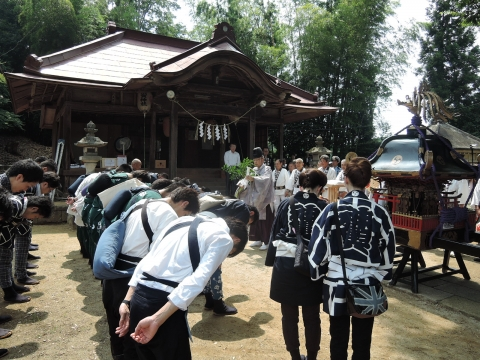 三村須賀神社 祇園祭①