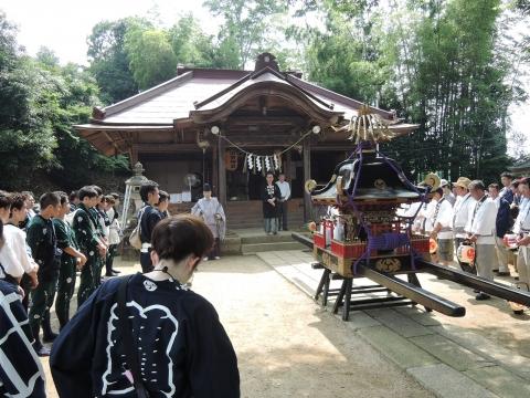 三村須賀神社 祇園祭②