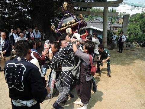 三村須賀神社 祇園祭③