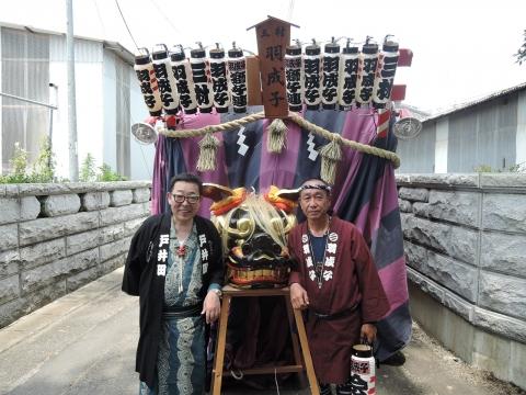 三村須賀神社 祇園祭⑤