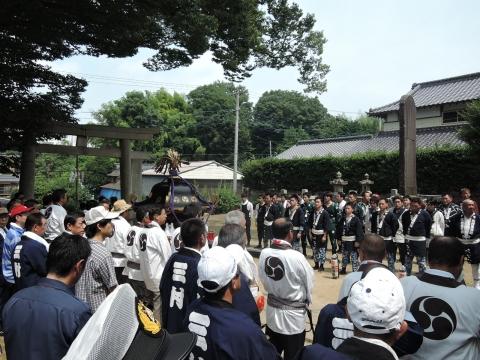 三村須賀神社 祇園祭⑧