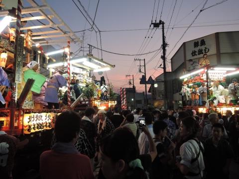 柿岡「八坂神社祇園祭」③
