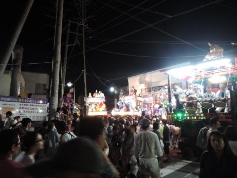 柿岡「八坂神社祇園祭」④
