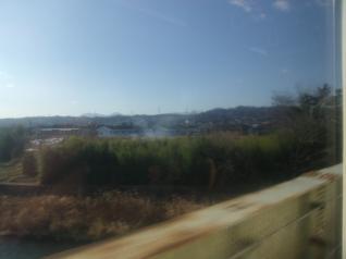 信越線車窓