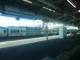 高崎線車窓