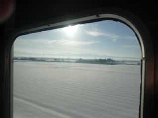 磐越西線車窓