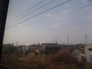 中央本線車窓
