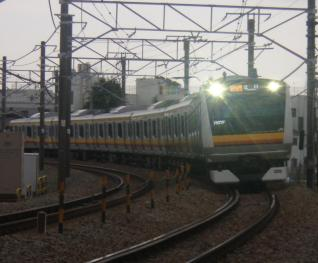 E233系ナハN4編成