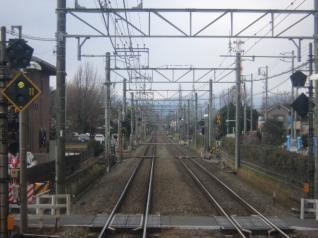 西武拝島線車窓