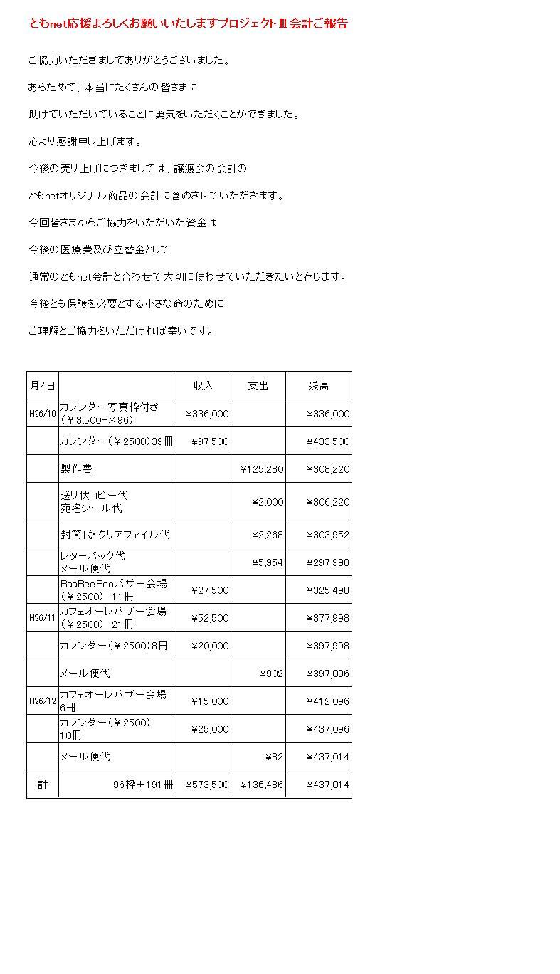 プロジェクト報告