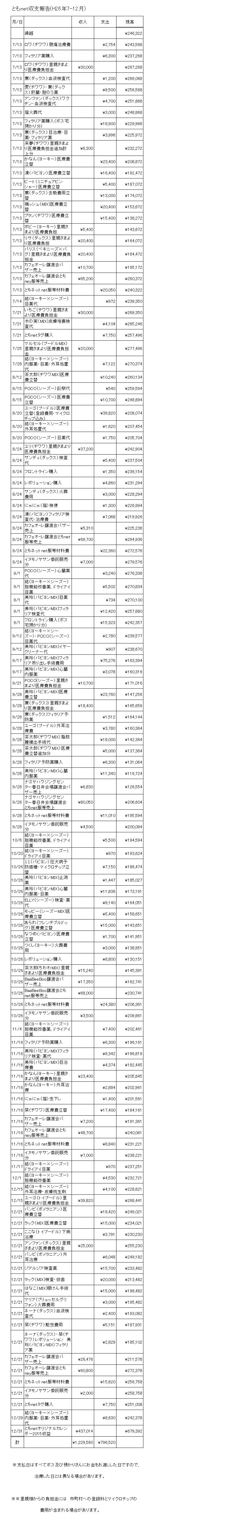 収支報告7-12