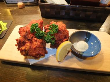 12辛い鶏唐揚げ0108