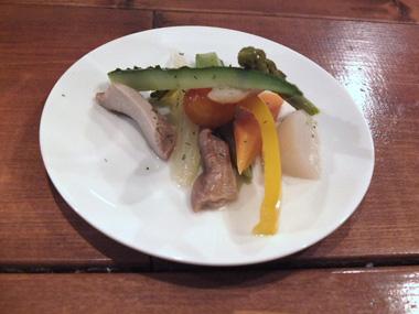 8季節野菜のピクルス0412