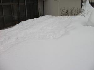 150104雪捨て場