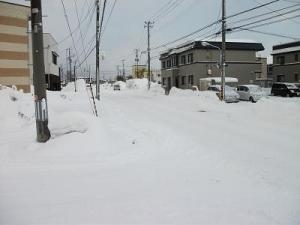 150128雪の晴れ間