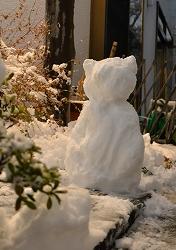 2015雪ネコ