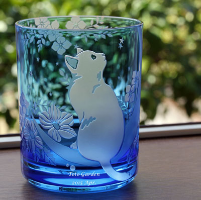 ねこglass_blue1