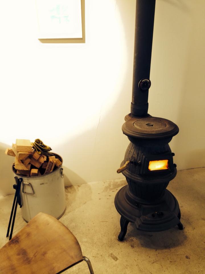 今井荘暖炉