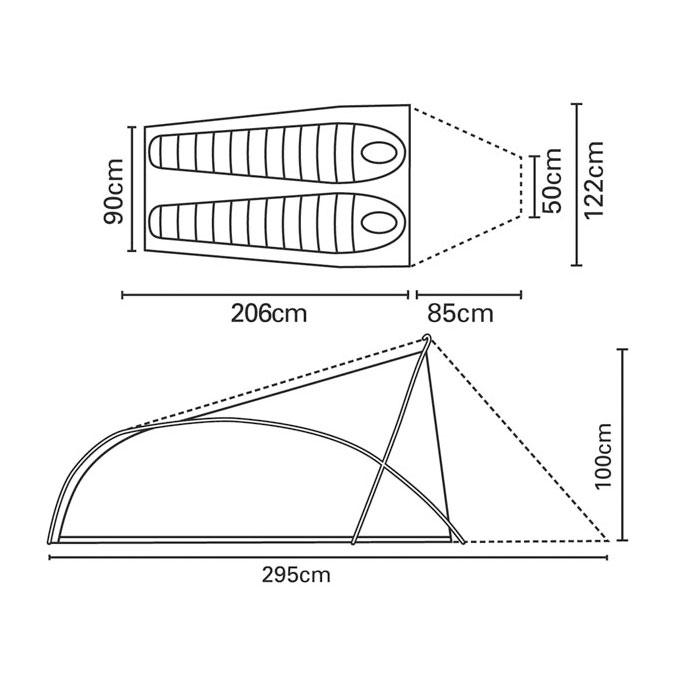 TERRA NOVA Superlite Voyager size