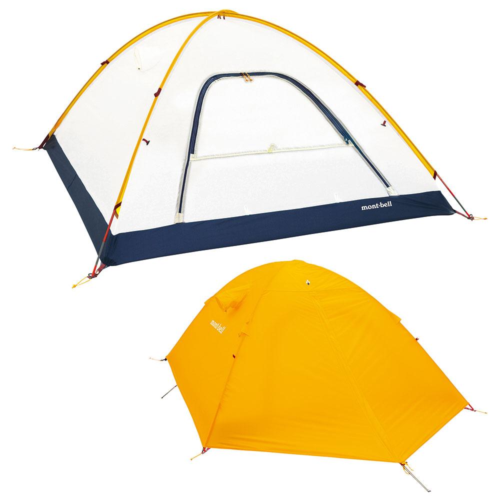 montbell ステラリッジ テント 3型