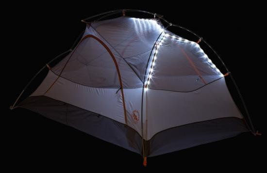 ビッグアグネス コパースパーUL2 mtnGLO テント ライティング