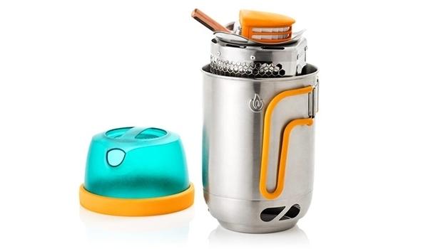CampStove kettle pot 収納時  旅 キャンプ アウトドア ギア