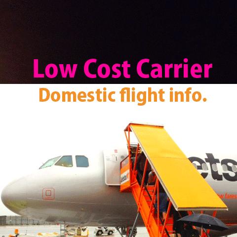 日本国内で就航している主なLCC(格安航空会社)路線まとめ
