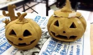 テラコッタ教室かぼちゃ