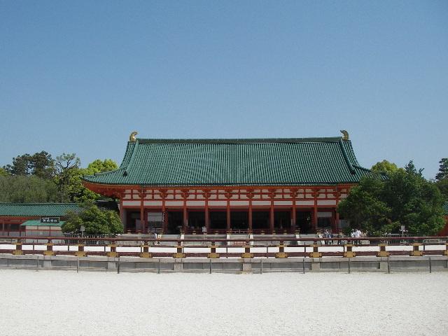 2015平安神宮外拝殿