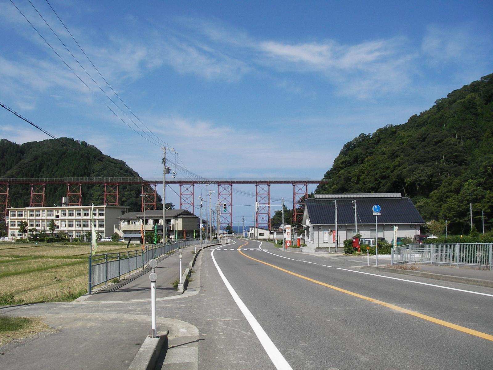 餘部鉄橋2006遠景