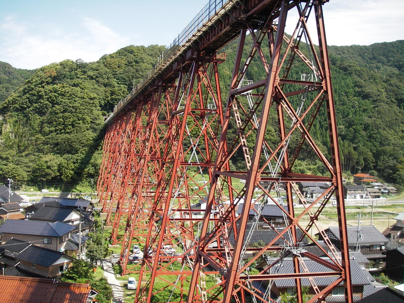 餘部鉄橋2006近景