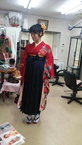 卒業式 袴2